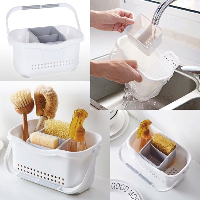 ORION Basket DRAINER stand organiser for cutlery accessories with handle