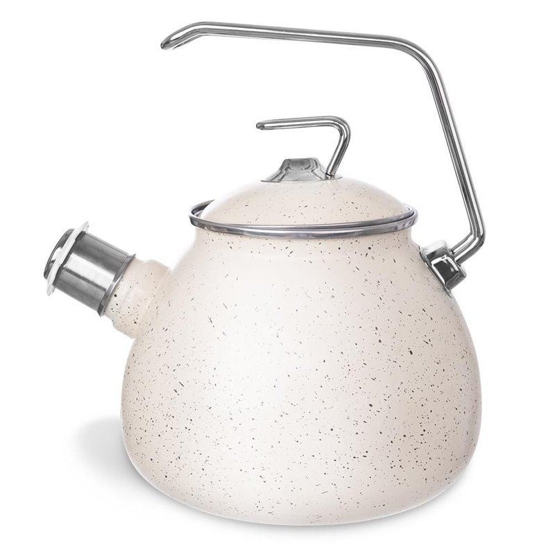 ORION Enamel GRANITE kettle 3,7L with whistle