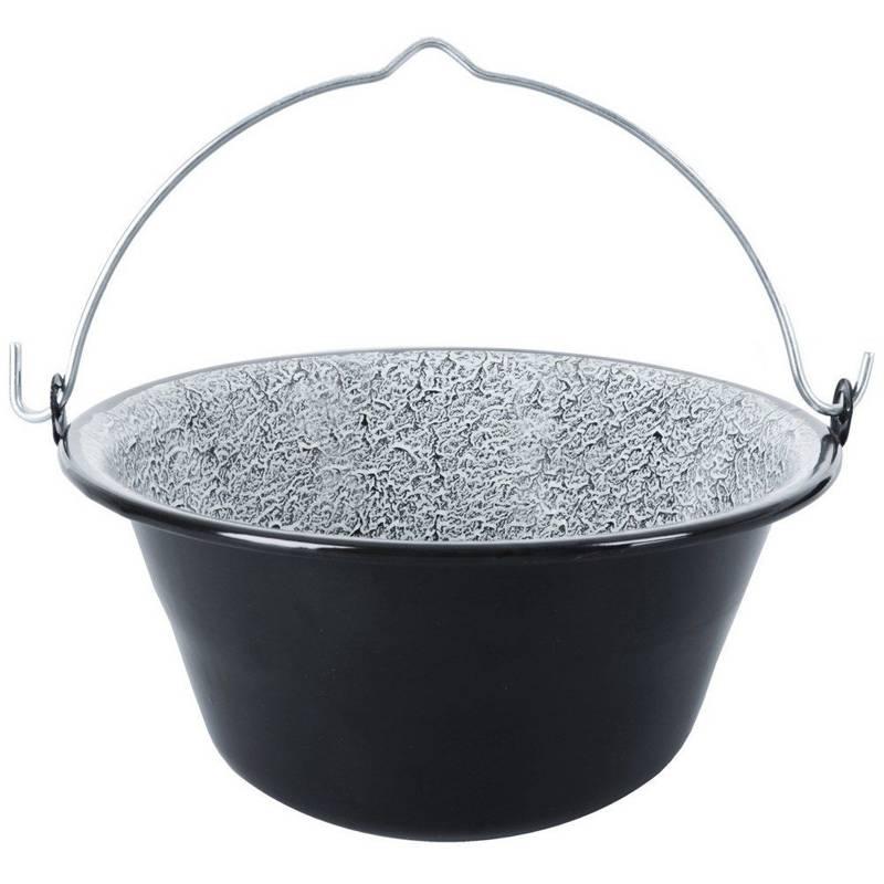 ORION Enamel cauldron hanging pot Hungarian 13L