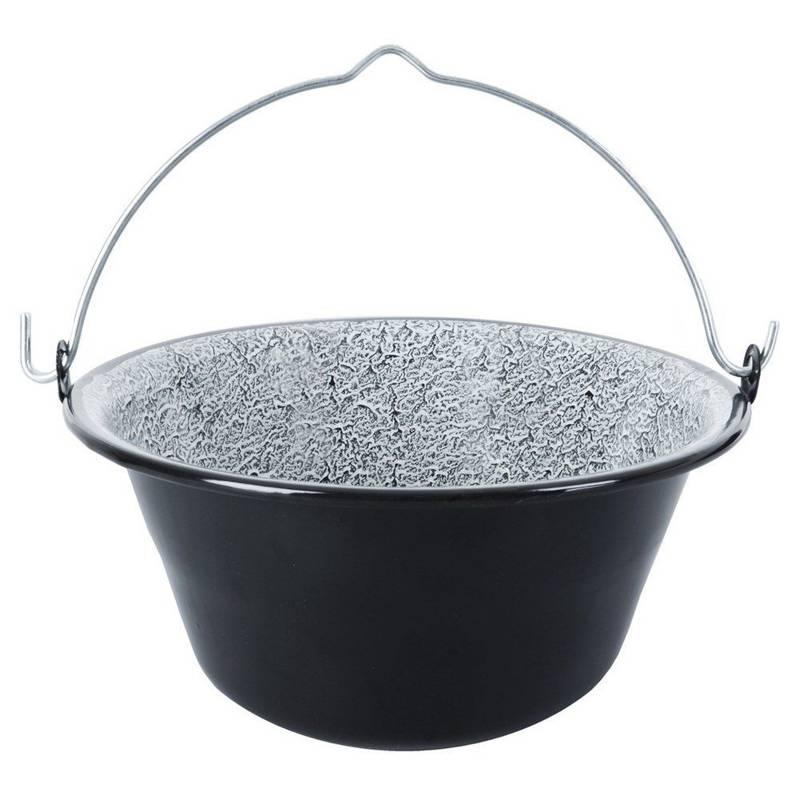 ORION Enamel cauldron hanging pot Hungarian 9,5L