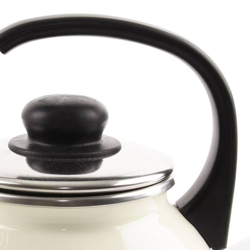 ORION Enamel kettle retro induction TONCA 1,75L