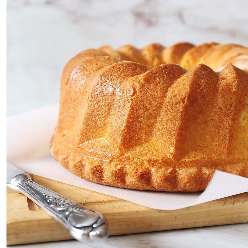 ORION Mold for POUND CAKE cake round 24 cm
