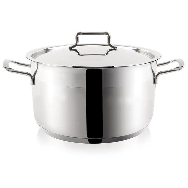 ORION Steel pot with lid 18/10 PREMIUM 6,2L