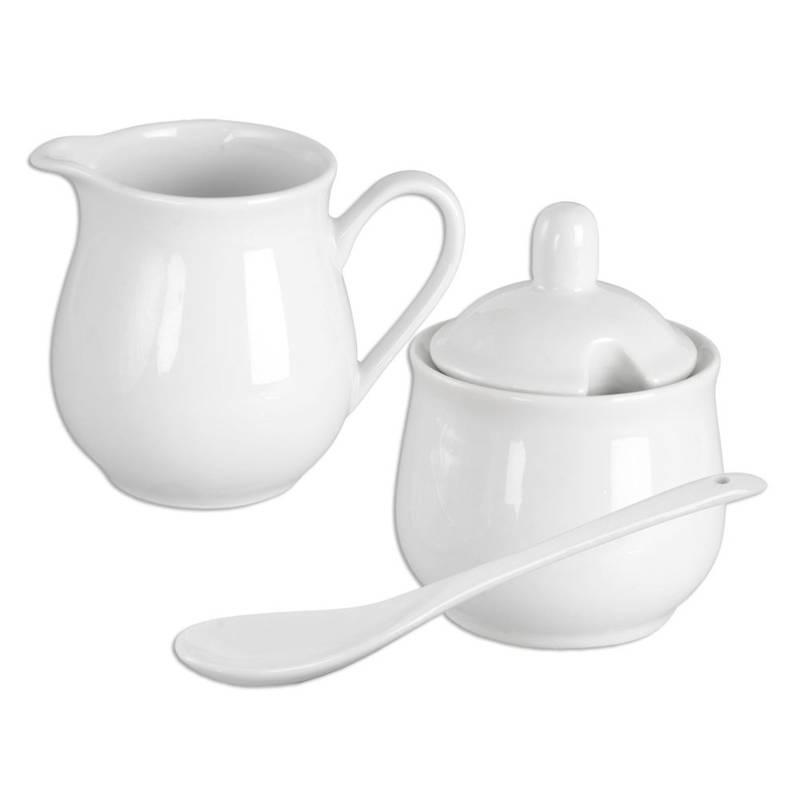 ORION Sugar bowl / sugar basin + milk jug