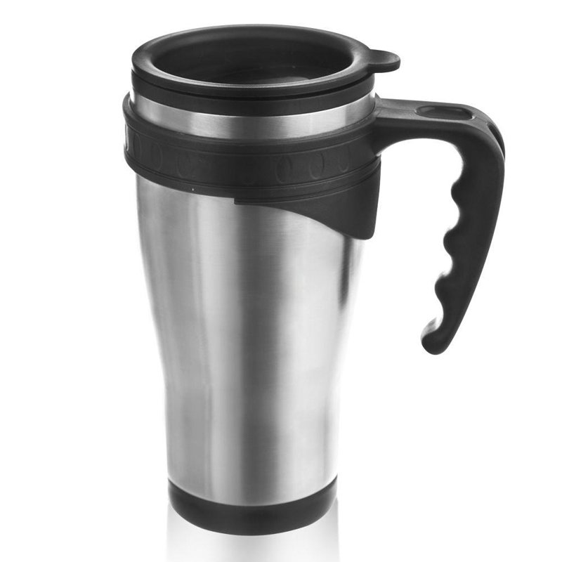 ORION Thermal mug with handle steel 0,45L thermos