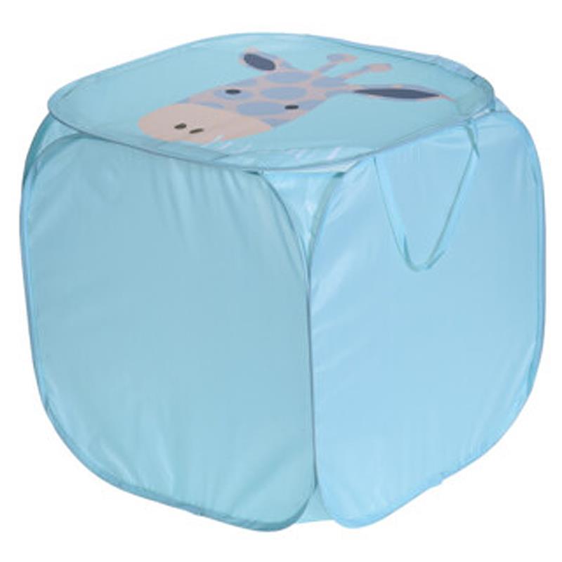 ORION Aufbewahrungsbox Spielzeugbox Spielzeugkiste FALTBAR mit Deckel GIRAFFE für Kinderzimmer