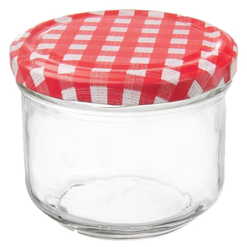 ORION Einmachglas Marmeladenglas mit Schraubverschluss für Eingemachtes Marmelade Gewürze 0,26l