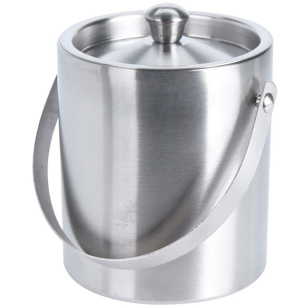 ORION Thermobehälter EISEIMER aus Stahl Eiskübel