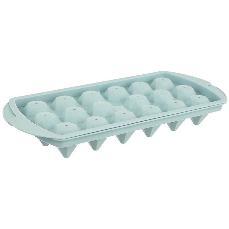 Eiswürfelform Form für Eiswürfel mit Deckel DIAMANTEN