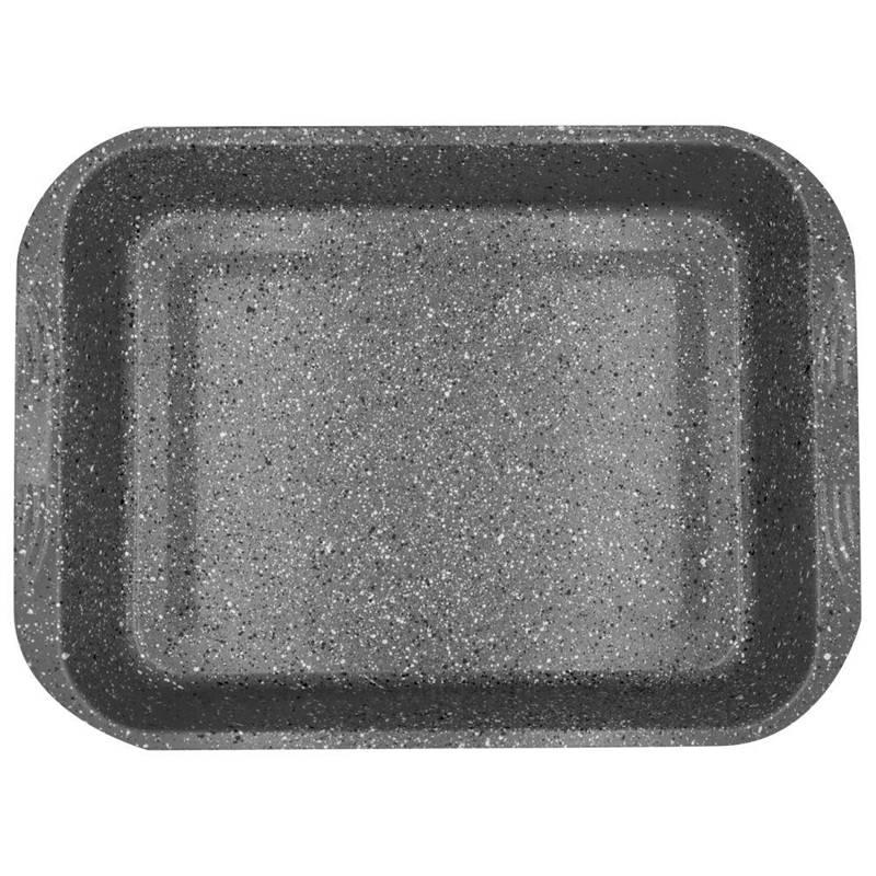 ORION Backblech / Kuchenform / Backform für Fleisch GRANIT 37x27 cm