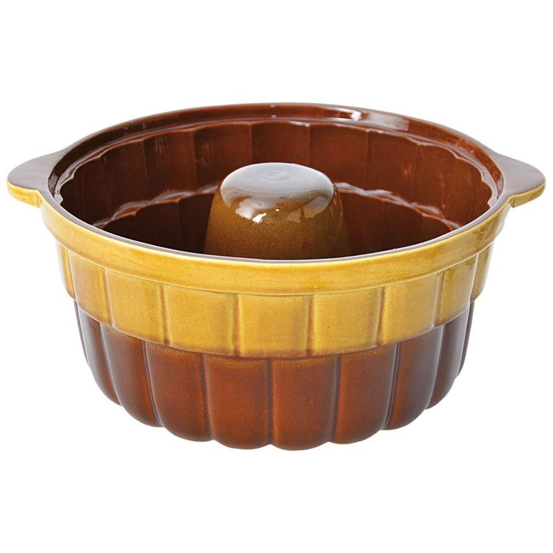 ORION Backform aus Keramik / Gugelhupfform mit Rohrboden