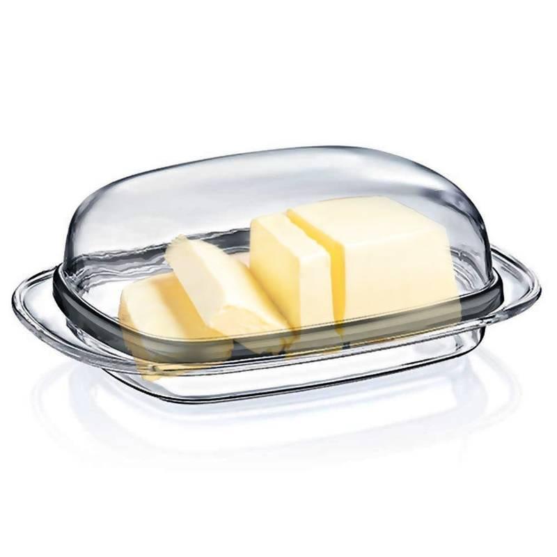 ORION Butter-Behälter / BUTTERDOSE / Butterschale mit Deckel transparent