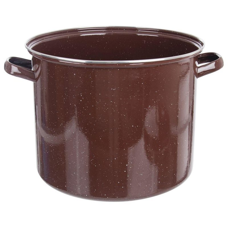 ORION Emaille-Topf / emaillierter Kochtopf für Gastronomielokale groß 36 cm 30l