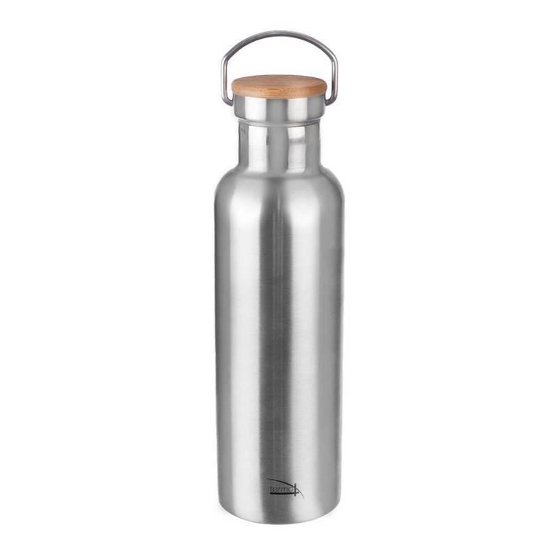 ORION Thermoskanne THERMOSFLASCHE aus Stahl für Getränke Tee Kaffee 0,8l