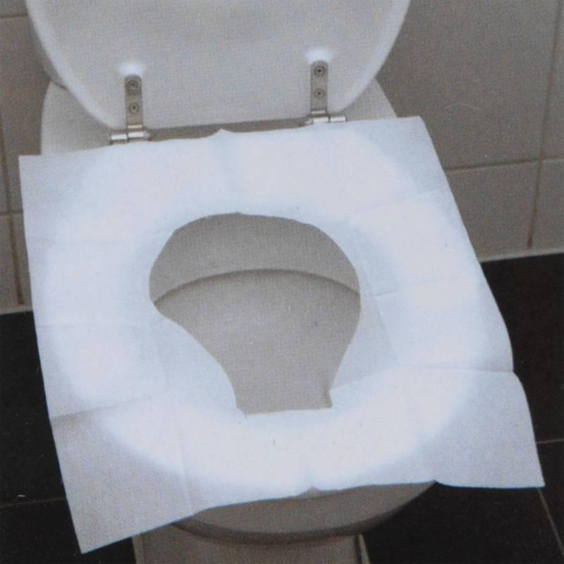 ORION Toilettensitzbezüge / Einweg-Toilettenauflagen zum Mitnehmen auf Reisen 10 Stück