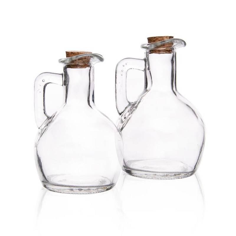 Ölflasche Essig und Öl Spender Dosierer SET 2 Stück