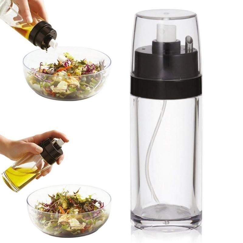 Ölsprüher Flasche 150 ml Essigsprüher Oil Sprayer Öl Sprüher Sprühflasche für Essig Olivenöl Eletorot