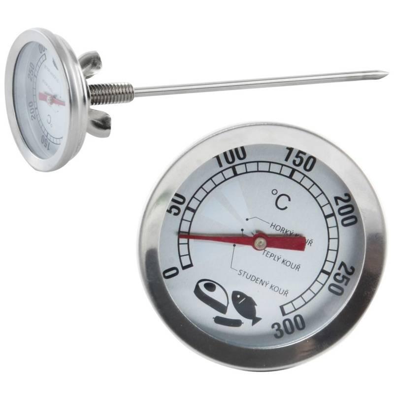 Räucherthermometer Thermometer für Räucherofen für Fleisch Fisch
