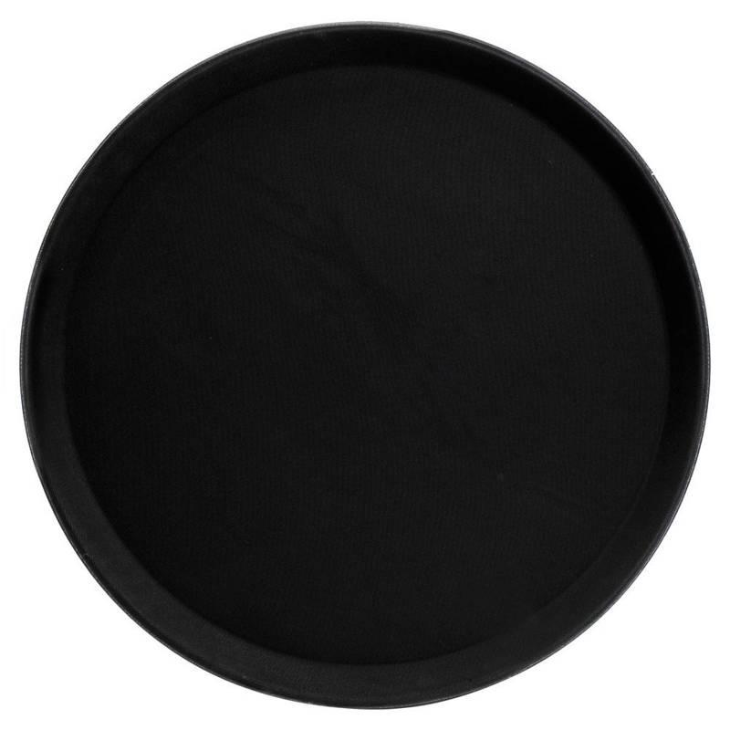 Servierplatte Serviertablett Kellnertablett rutschfest 35 cm