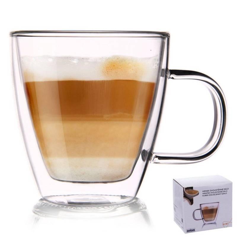 Teeglas Kaffeeglas Doppelwandig Gläser Thermoglas für Kaffee Tee 180 ml