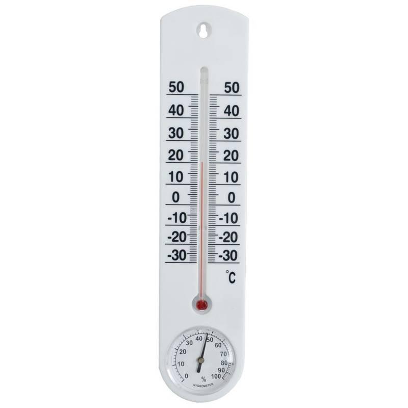 Thermometer + Hygrometer Innen Außen
