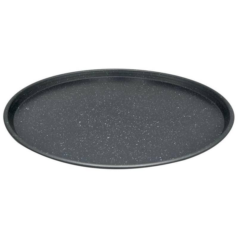 Blacha forma do pizzy GRANITOWA na pizzę duża XL 35,5 cm