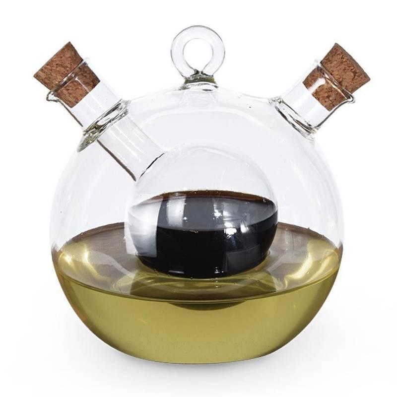 Butelka dozownik na oliwę ocet balsamiczny 2w1 do oliwy octu