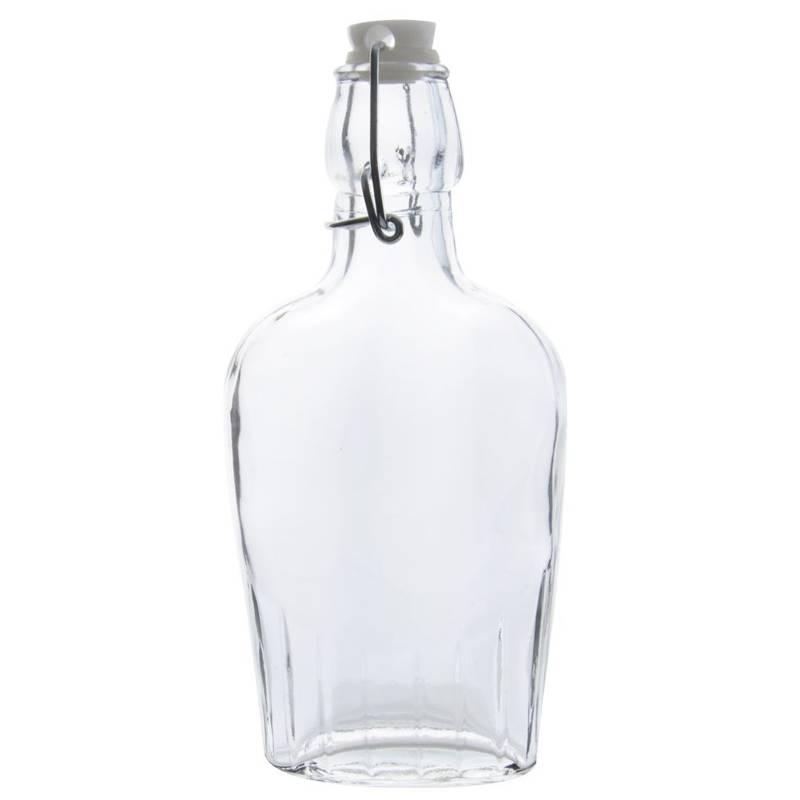 Butelka szklana do nalewek wina śliwowicy 0,18L