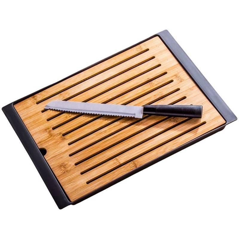 Deska + nóż do krojenia chleba, pieczywa