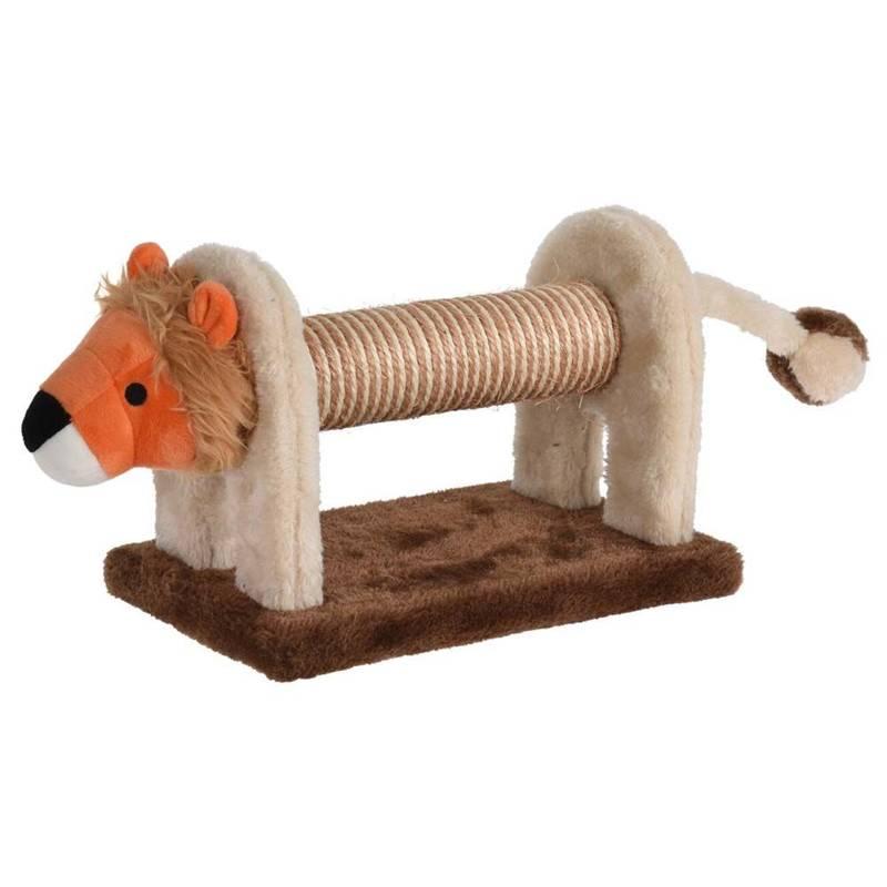 Drapak dla kota, zabawka do drapania, lew, 51x16x16 cm