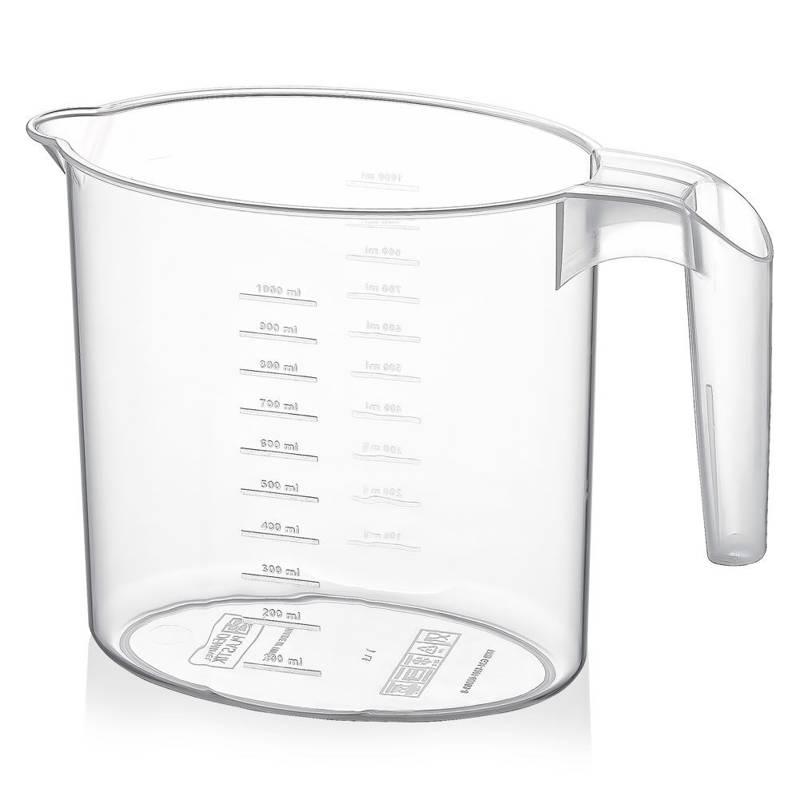 Dzbanek do napojów plastikowy z miarką 1L