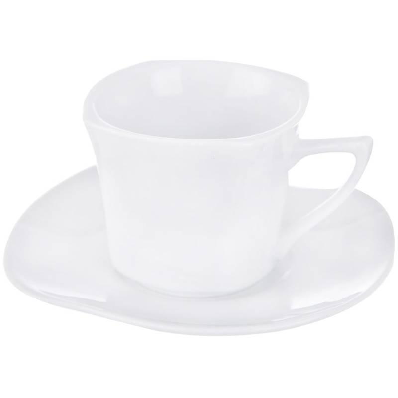 Filiżanka porcelanowa  + podstawka 0,1L BILY