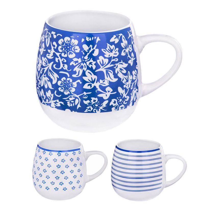 Kubek ceramiczny z uchem 580ml do kawy herbaty ziół