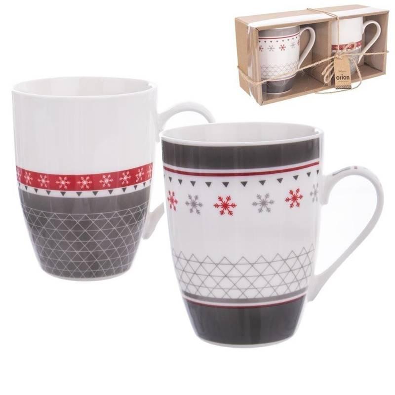 Kubek porcelanowy / zestaw kubków 0,34L NA PREZENT