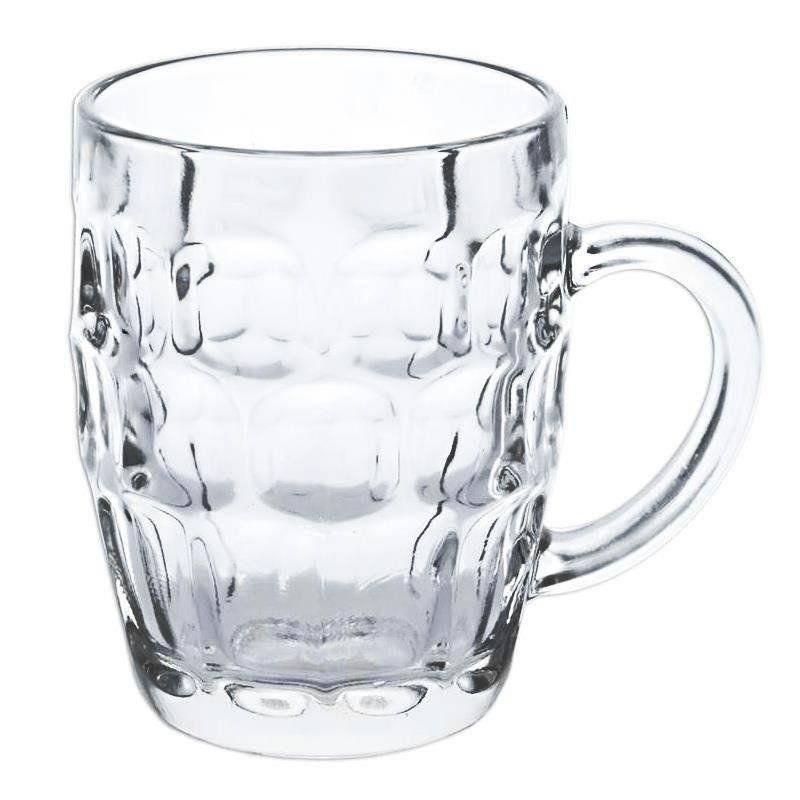 Kufel szklany szklanka do PIWA 0,55L