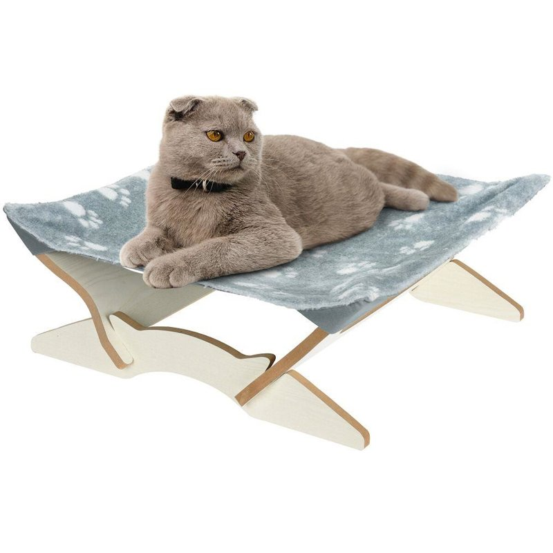 Legowisko, łóżka dla kota, poduszka, mata 43x43 cm