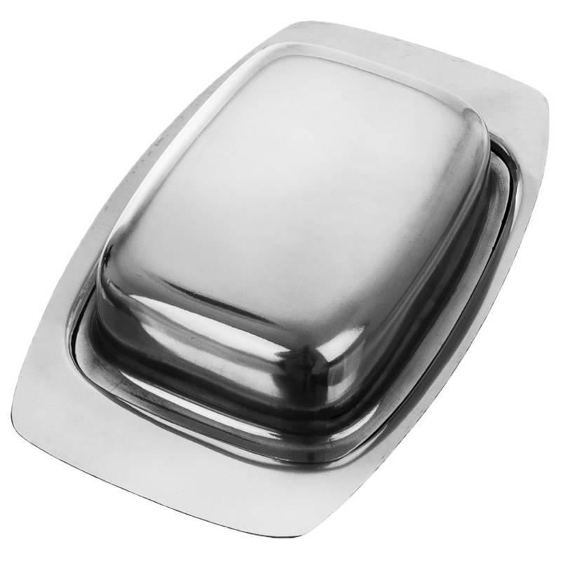 Maselniczka STALOWA maselnica pojemnik na masło