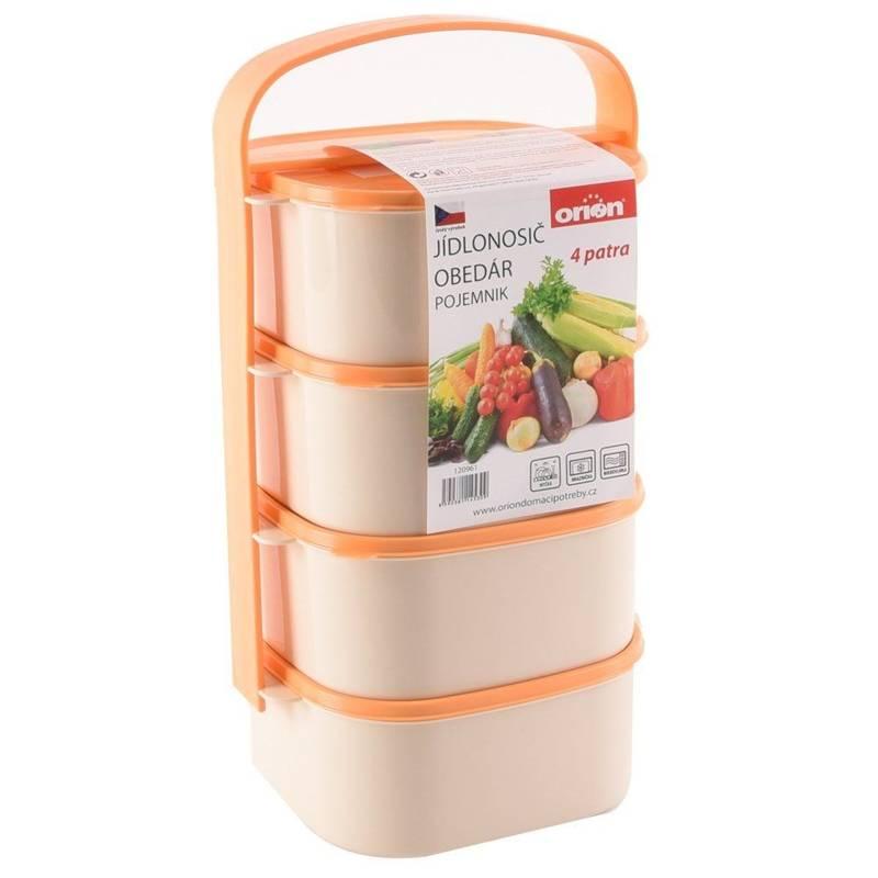 Menażka obiadowa do przenoszenia żywności 4x1,15L