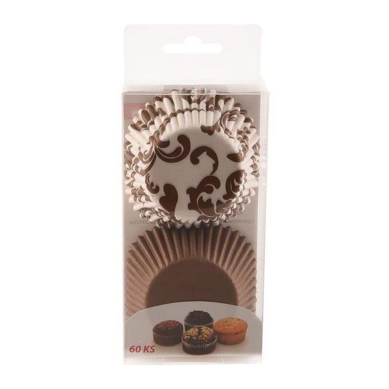 Papilotki do muffinek śr. 3,5 cm - 60 szt