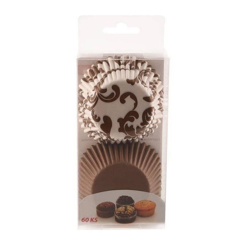 Papilotki do muffinek śr. 5,5 cm - 60 szt