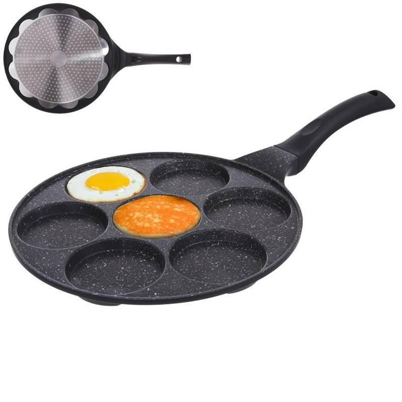 Patelnia do jajek / placków 7 otworów GRANDE