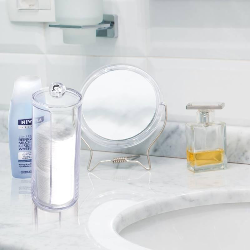 Pojemnik PODAJNIK na płatki kosmetyczne higieniczne waciki