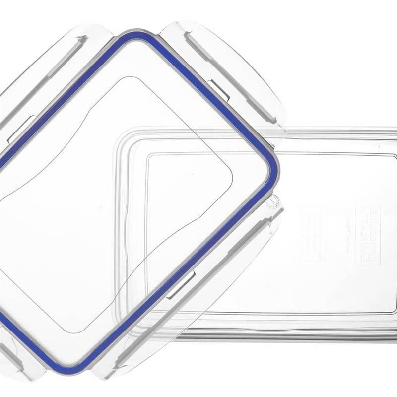 Pojemnik do żywności z uszczelką 0,7L prostokątny