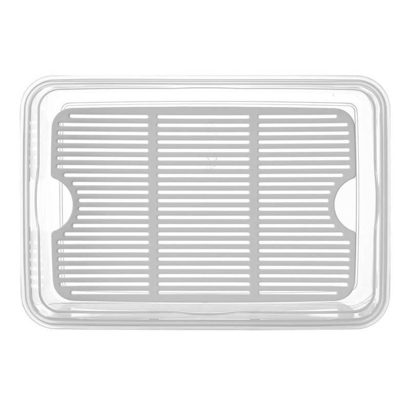 Pojemnik kuchenny na SER WĘDLINY do żywności z uszczelką kratką 4,5L szczelny