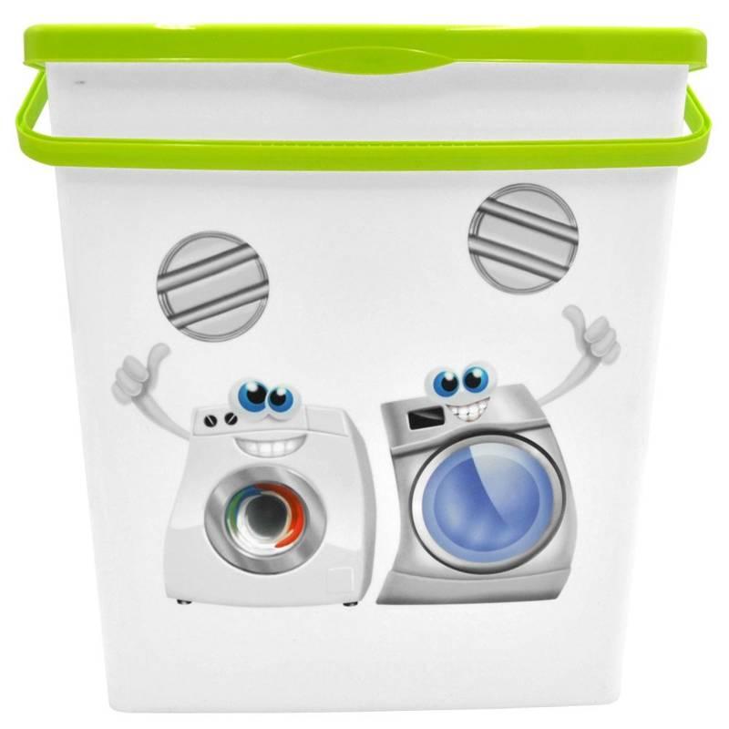 Pojemnik łazienkowy na proszek do prania kapsułki XL duży 10L