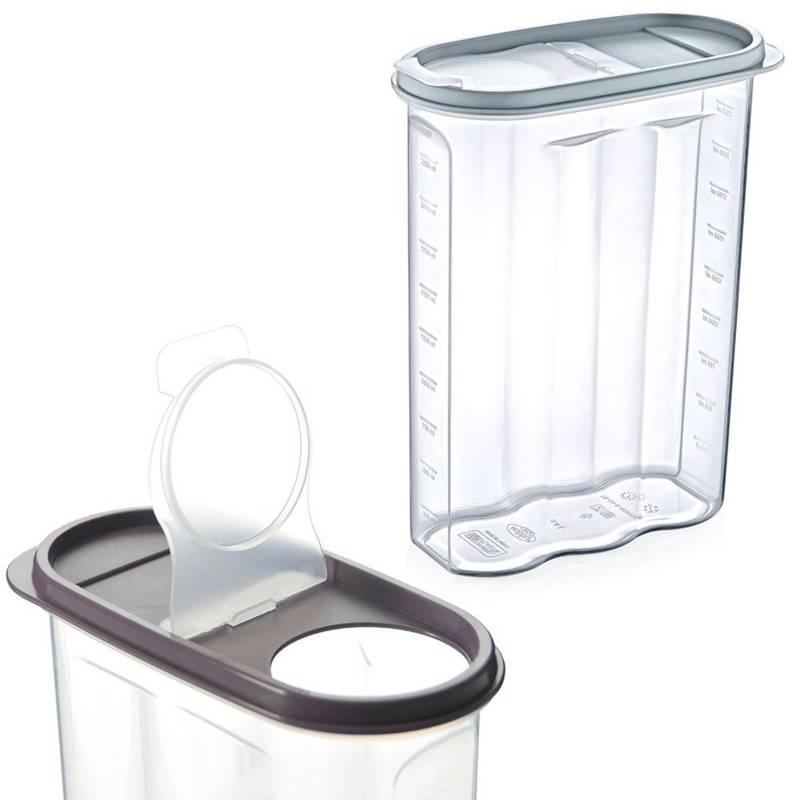 Pojemnik na żywność płatki kasze makaron 2,4 l