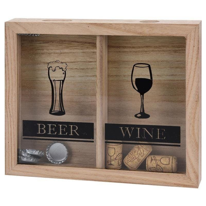 Pojemnik / pudełko na kapsle i korki do wina