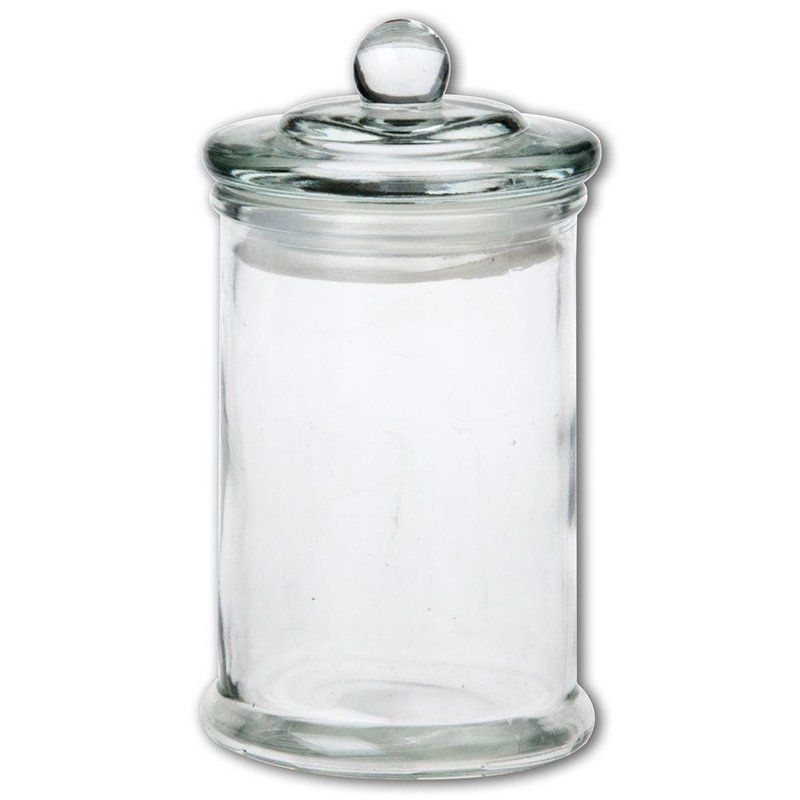 Pojemnik szklany kuchenny słój słoik RETRO 0,33l