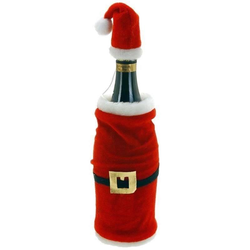 Pokrowiec świąteczny na butelkę, wino