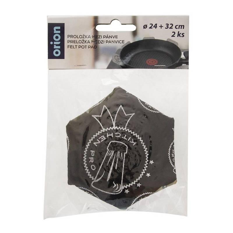 Przekładka ochronna ochraniacz do patelni garnków przekładki ochronne 24 + 32 cm 2 sztuki